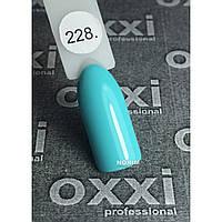 Гель лак Oxxi Professional 8 мл 228 Бело-голубой