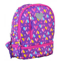 Рюкзак детский K-21 Hearts, 27*21.5*11.5 (555314)