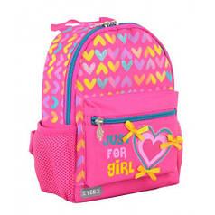 Рюкзак детский K-16 Hearts, 22.5*18.5*9.5 (554758)