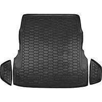 Коврик в багажник для Mercedes W 222 (с регулировкой сидений)