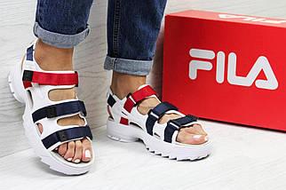Сандалии женские, мужские Fila Disruptor Sandals (2 ЦВЕТА!), босоножки fila, женские сандалии, фото 3