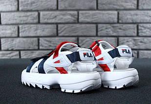 Сандалии женские, мужские Fila Disruptor Sandals (2 ЦВЕТА!), босоножки fila, женские сандалии, фото 2
