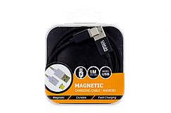 Магнитный кабель SEVEN Systems MC2 Type-C, black