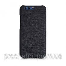 Кожаная накладка Stenk Cover для Huawei P10 Plus Черный