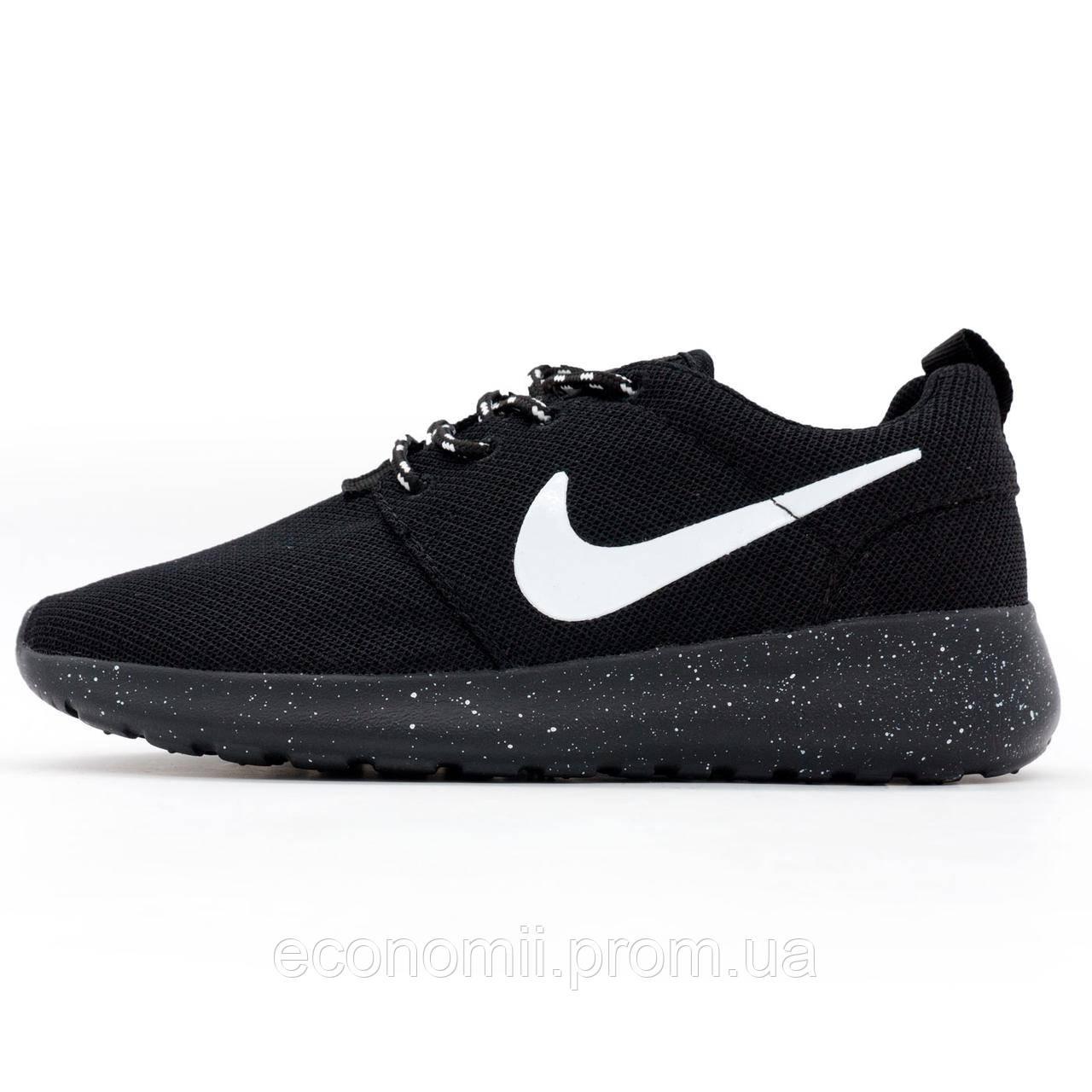 438d154612f3ae Nike Roshe Run полностью черные в крапинку. Топ качество!!! р.(37 ...
