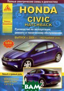 Honda Civic Hatchback выпуска с 2006 г. Руководство по эксплуатации, ремонту и техническому обслуживанию