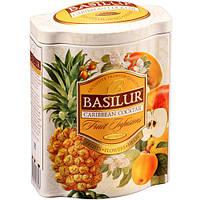 Фруктовый чай Basilur Карибский коктейль ж/б 100 г