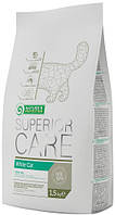 Nature's Protection Adult Cat White Coat, 15 кг