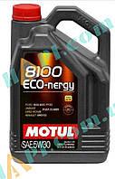 Масло   автомобильное, 5л   (синтетика, 5W-30, 8100 ECO-NERGY)   MOTUL   (#102898)
