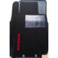 Текстильные коврики в салон на Honda Accord  2002-2008 - Черные