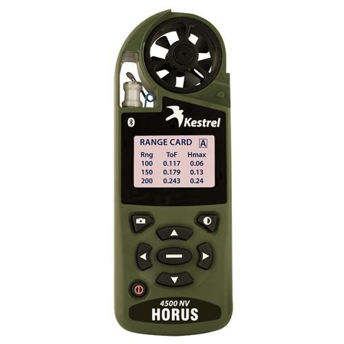 Метеостанция Kestrel 4500 Horus Bluetooth NV OliveDrab