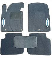 Текстильные коврики в салон на Toyota Highlander 2001-2007 Серые
