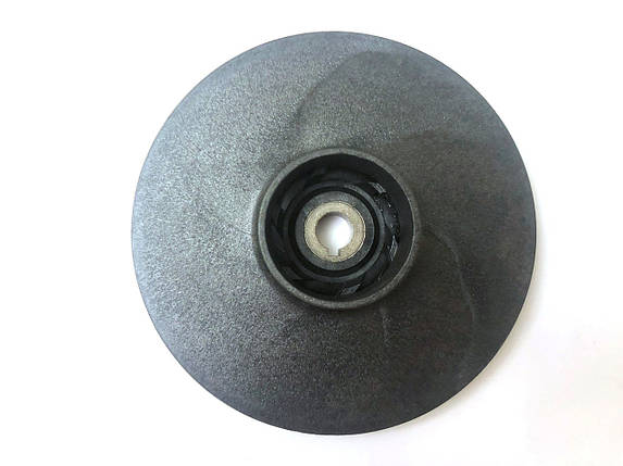 Рабочее колесо электронасоса насосной станции нар. Ø126 мм Ø12 мм (черное), фото 2