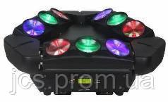 Световой прибор New Light M-L33-10 RGBW LED SUPER CYCLONE  MOVING 9*10W