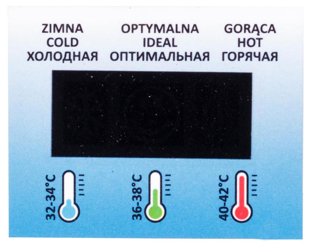 Ванночка Tega Самоклеющийся термометр termo-022