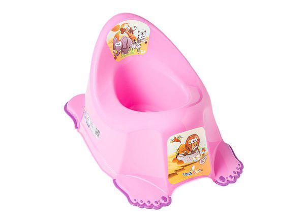 Горшок Tega Safari PO-045 антискользящий music розовый