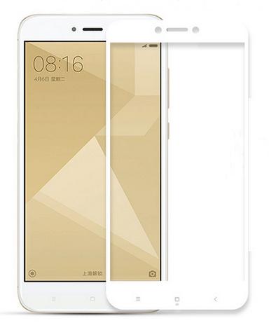 Защитное стекло (3D) White для Xiaomi Redmi 5A белый, фото 2