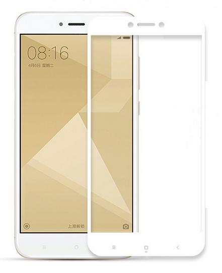 Защитное стекло (3D) White для Xiaomi Redmi 5A белый