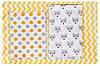 Сменный комплект Babyroom SB-003 белый (желтый,серый горох), фото 2