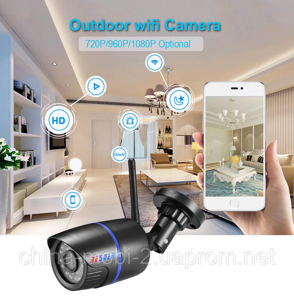 BESDER 960P Wi-Fi DVR вулична камера з реєстратором, чорна