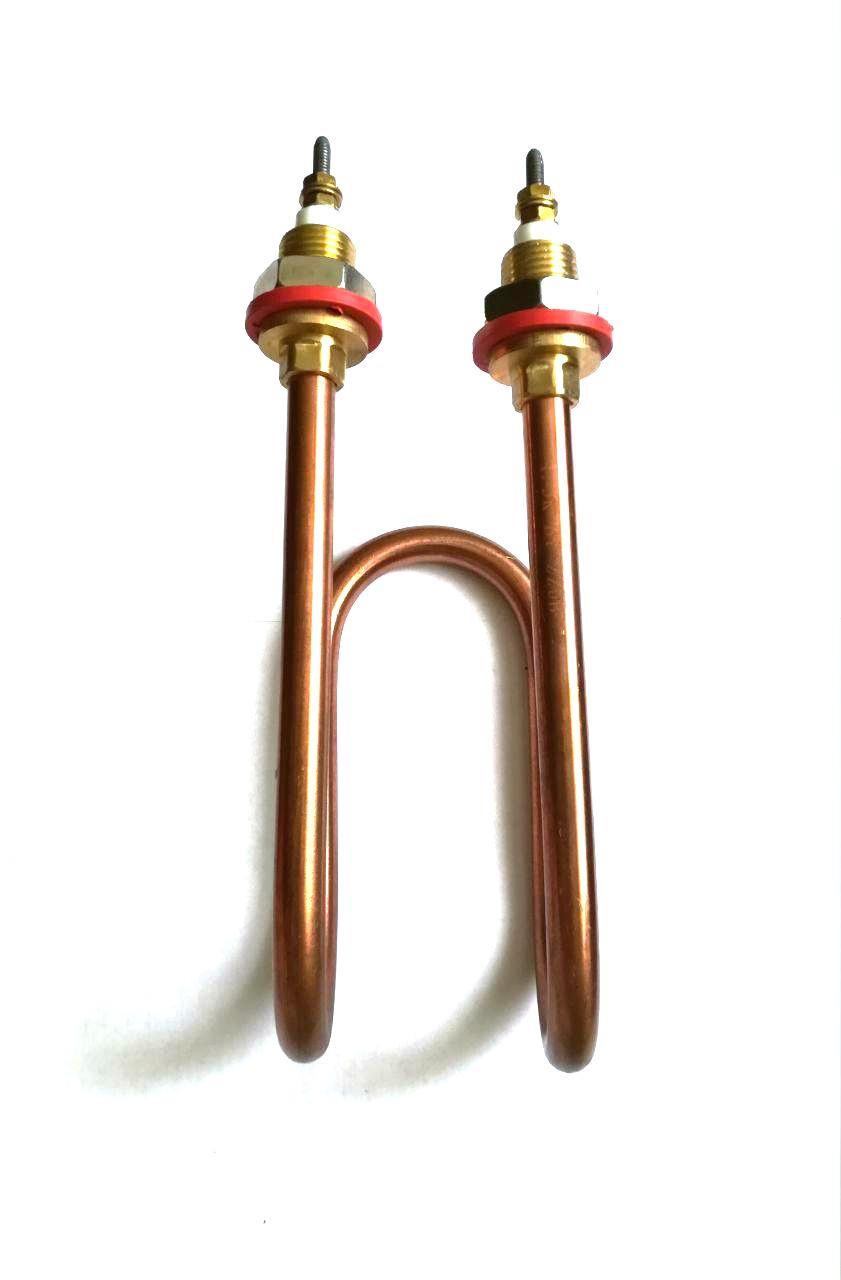 Тэн водяной для дистилляторов 2000W Лыжа / 220V / Медный / Турция
