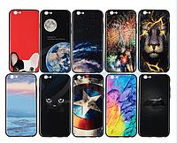 Стеклянный Защитный Чехол iPaky Glass Print для iPhone 7, 8