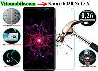 Защитное стекло Nomi i6030 Note X / 2,5D / олеофобное покрытие