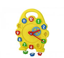 Детская игрушка часы.Детская развивающая игрушка для детей.