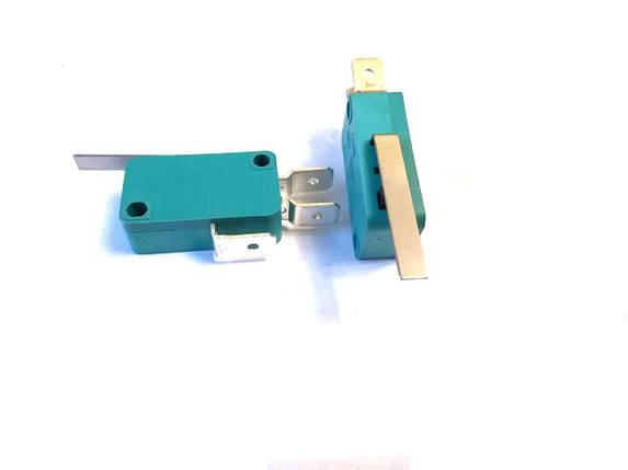 Микропереключатель 1E4 T125 Рычаг 27мм / 250V / 16A, фото 2