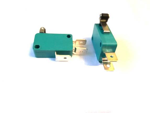 Микропереключатель 1E4 T125 рычаг с колесиком 13мм / 250V / 16A, фото 2