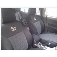 Чехлы на сидения Toyota LС Prado 120 (7 мест) с 2003–09 г - Elegant