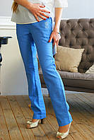 """Летние брюки для беременных """"Летняя лазурь"""" р. 46,50 ТМ NowaTy 16010205, фото 1"""