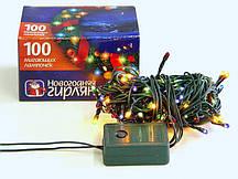 Гирлянда электрическая новогодняя 100 лампочек