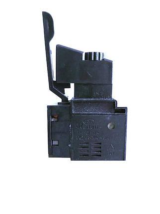 Кнопка для электроинструмента с регулятором Kaitell FA2-6/1BEK / 250V / 6A, фото 2