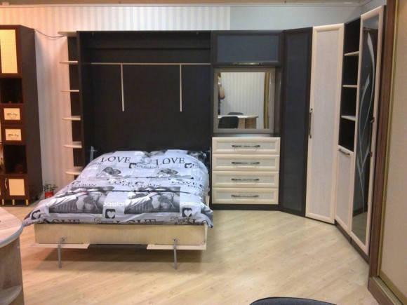 Шкаф-кровать трансформер Платон 107, фото 2