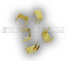 Ограничитель на молнию №5 (нижний) 6214 золото