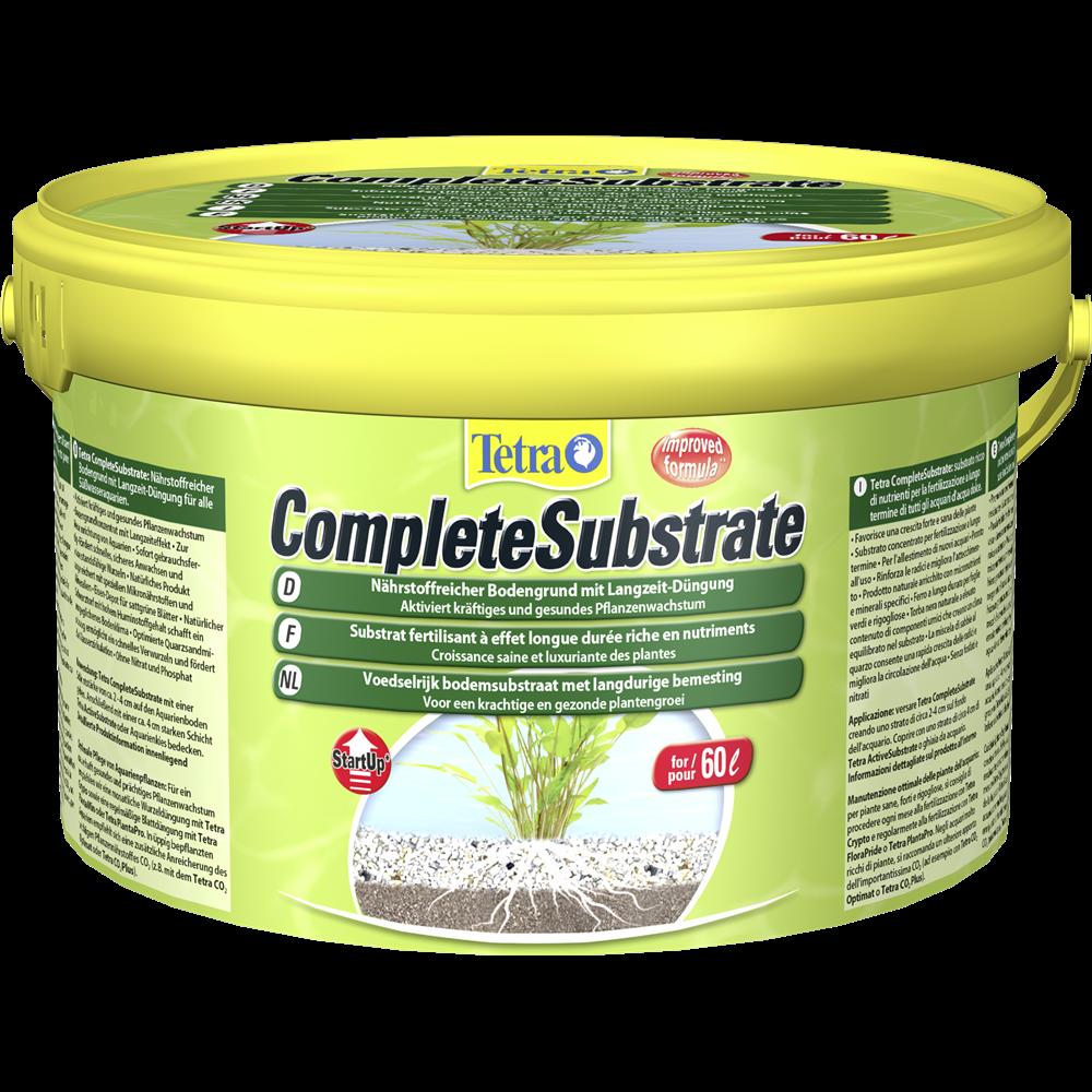 Tetra CompleteSubstrate 10 кг - концентрат грунта с долгострочным эффектом удобрения в аквариум