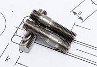 Шпилька М16 DIN 938 с ввинчиваемым концом прочностью 8.8