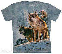 Футболка The Mountain - Wolf Couple Sunset