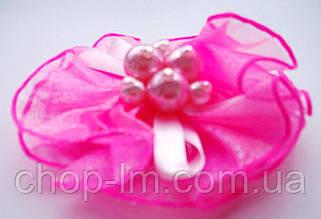 Резинка-бант (розовый)
