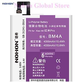 Аккумулятор Nohon BM4A для Xiaomi Redmi PRO (ёмкость 4000mAh)
