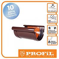 З`єднувач ринви Profil 130 коричневий