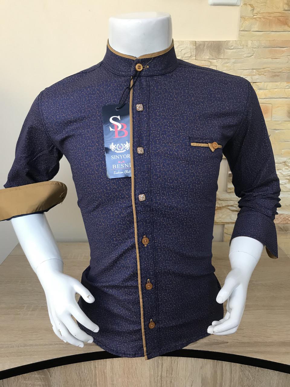 Детская рубашка Sinyor Besni 5-8 стойка