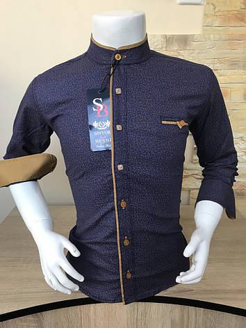 Детская рубашка Sinyor Besni 5-8 стойка, фото 2