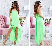 Платье шифоновое в расцветках 25074, фото 1