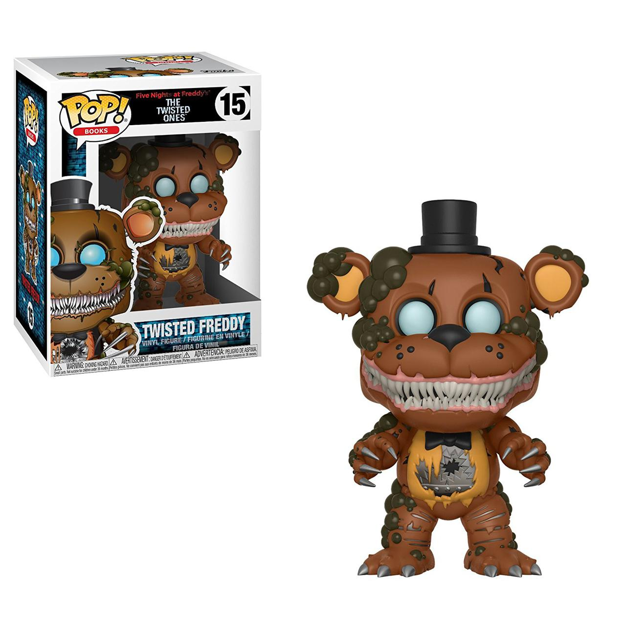 Фигурки 5 ночей с Фредди Funko Pop Books: Five Nights Twisted Freddy Collectible Figure, Multicolor