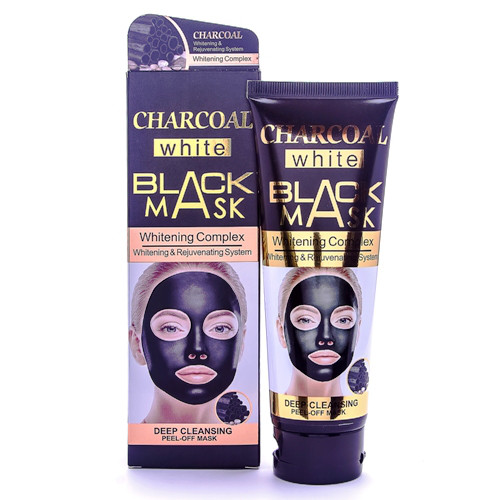 Маска для обличчя WOKALI Charcoal Black Mask Whitening Complex 130 мл