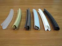 Уплотнитель для деревянных дверей Домик 10 мм бежевый, коричневый, серый, черный, белый, прозрачный