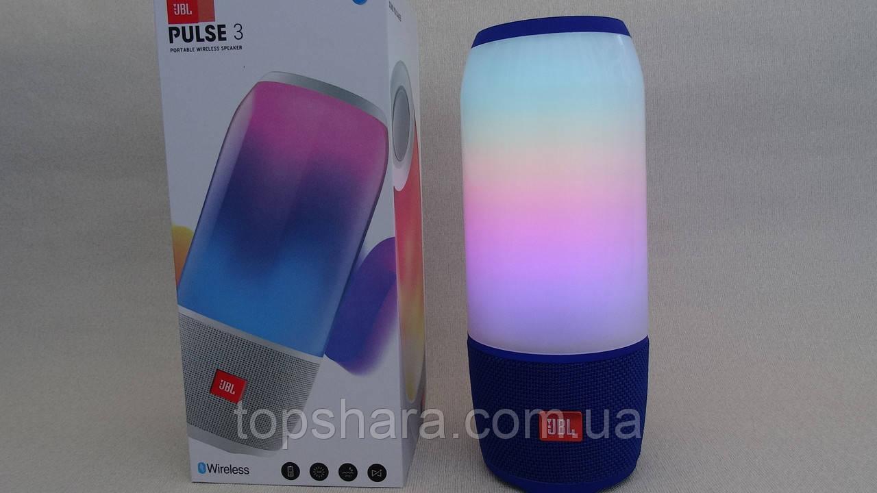 Акустика мобільна Bluetooth JBL Pulse 3 + світломузика
