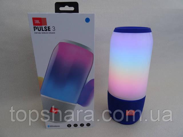 Колонка портативная с подсветкой JBL pulse 3